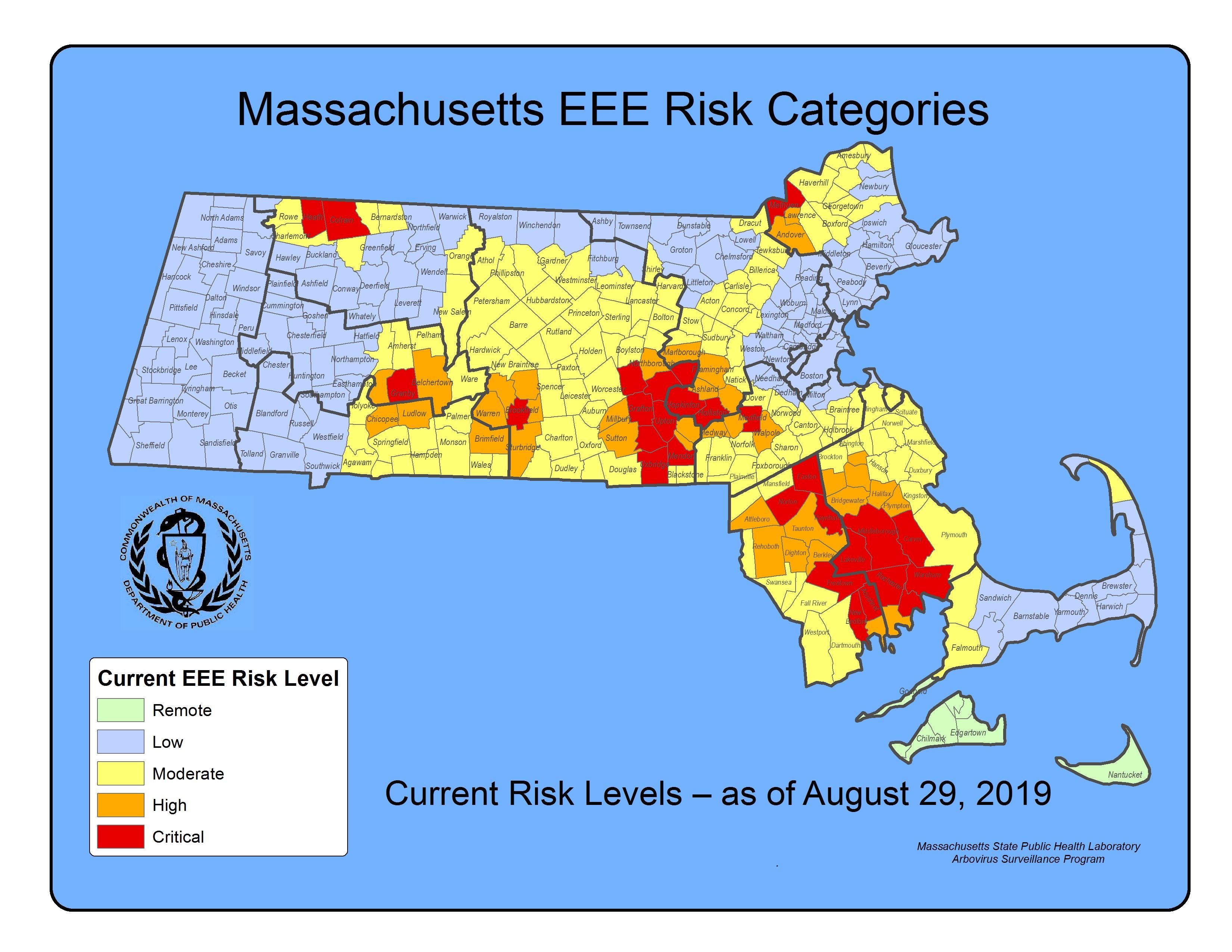 EEE Community Risk Map